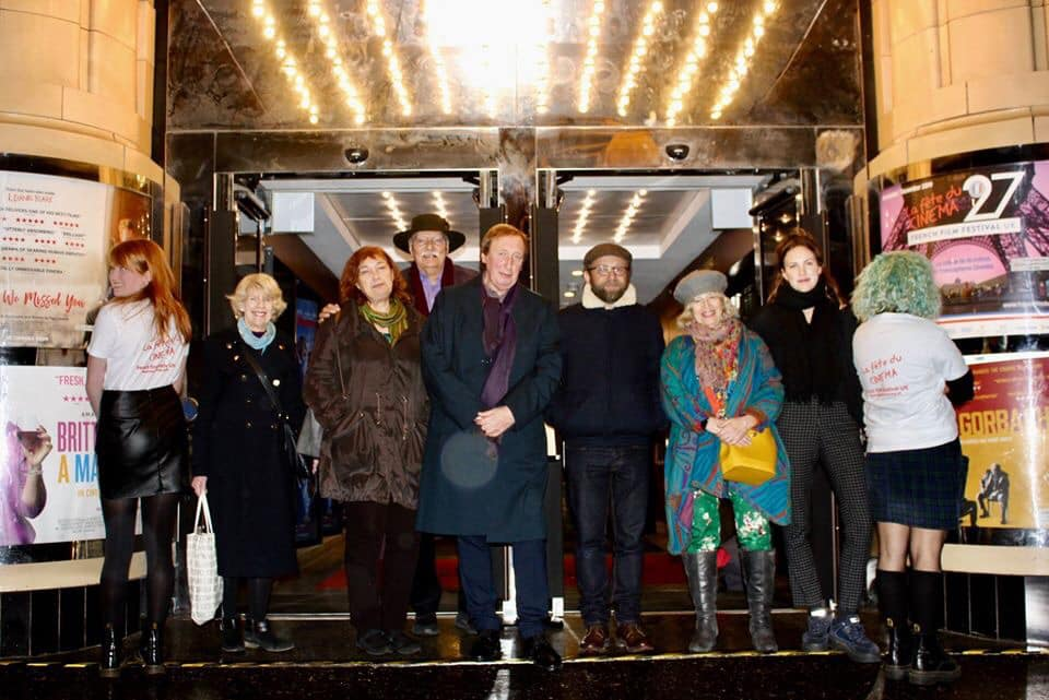 FFF2019 team outside Glasgow Film Theatre